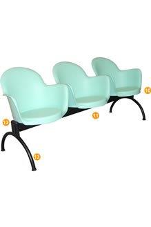 Cadeira Longarina CL6